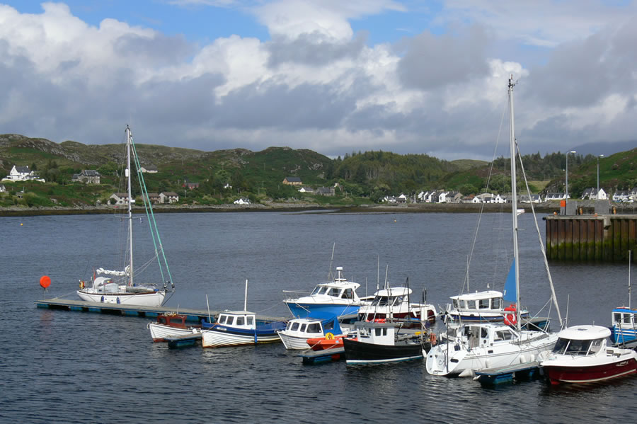 Lochinver harbour