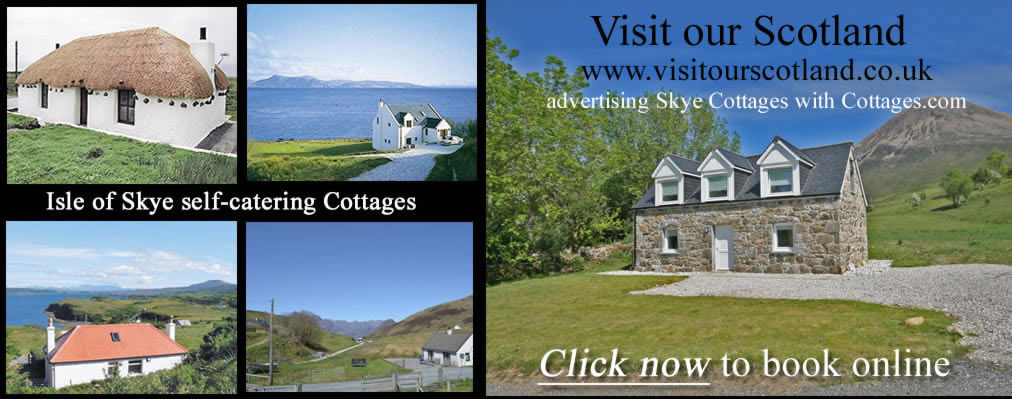 Self catering cottages on Skye