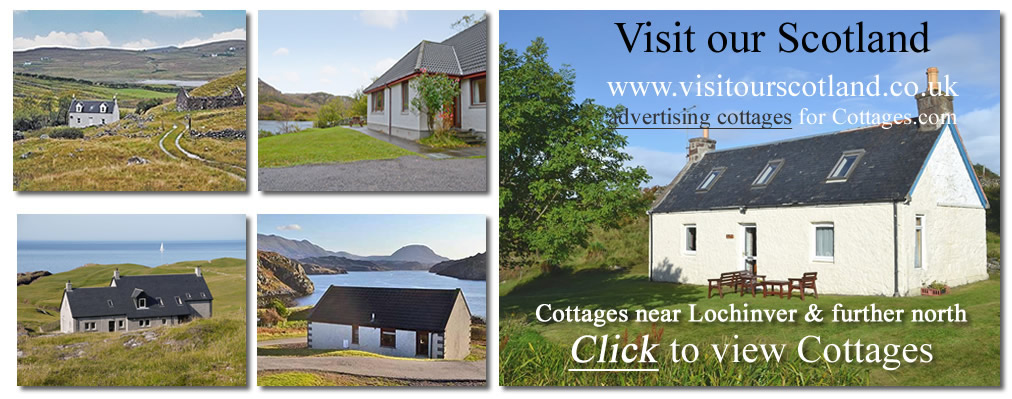 Highland Cottages in the north of Scotland